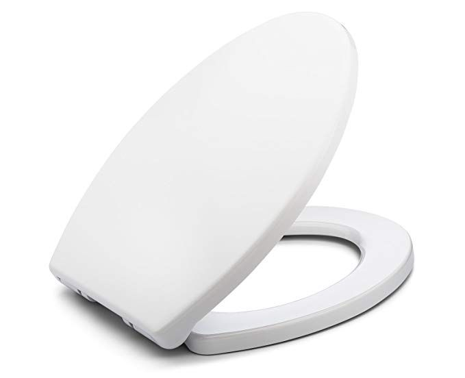 Excellent Bath Royale Mastersuite Elongated Toilet Seat With Cover Andrewgaddart Wooden Chair Designs For Living Room Andrewgaddartcom