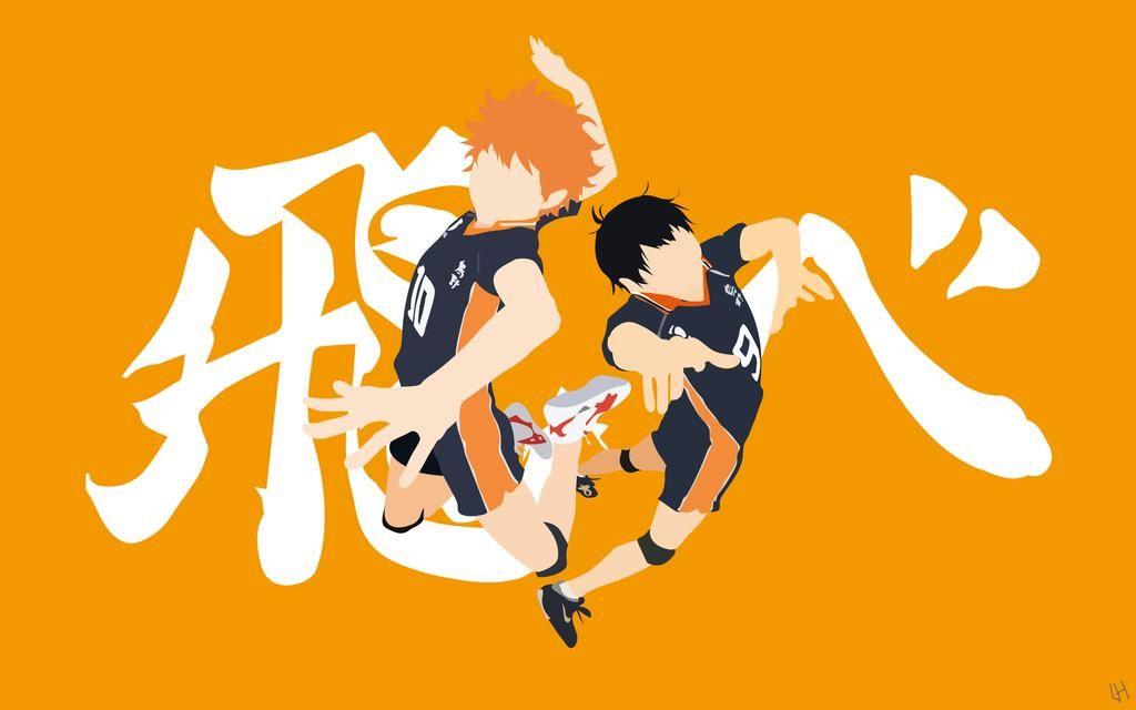 Hinata x Kageyama (Haikyuu!!) by L0809 on DeviantArt