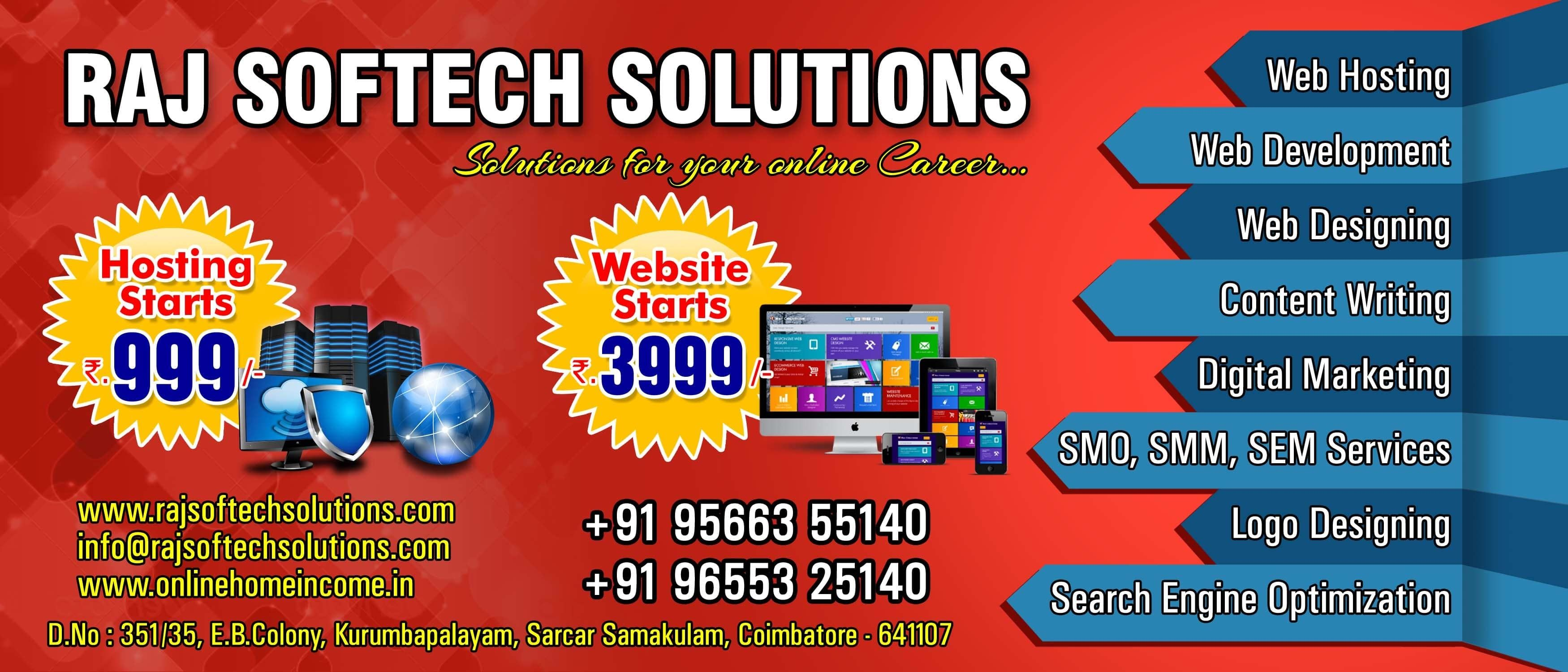 We Are A Digital Marketing Company Based At Coimbatore Https Www Rajsoftechsolut Top Digital Marketing Companies Digital Marketing Digital Marketing Company