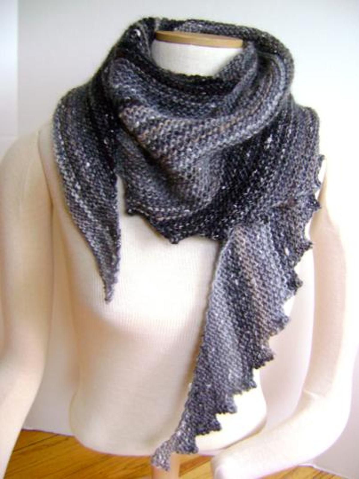 hitchhiker scarf pattern free - Google Search | scarves | Pinterest ...
