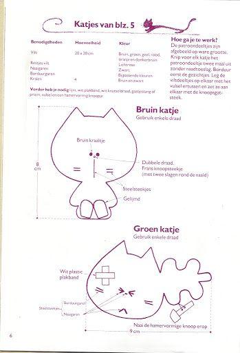 chat kattenboek - lailahandmade - Álbuns da web do Picasa