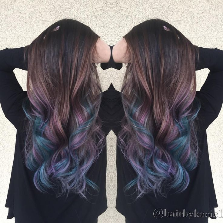 The 14 Prettiest Pastel Hair Colors on Pinterest | Colorful Hair ...