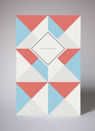 Les 6 Architectes by Papier Tigre #notebook #geometrico #pattern #grafica #cover