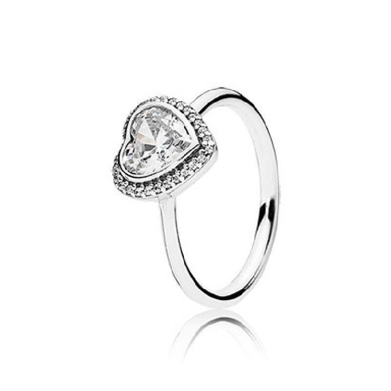 anillo corazones oro pandora