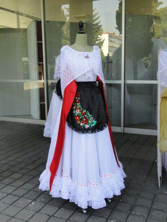 Traje Tipico De Veracruz Mexico Vestidos Mexicanos Tradicionales Vestidos Mexicanos Traje De Veracruz
