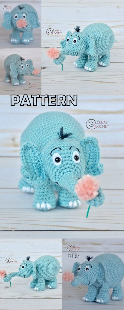 Amigurumi New Best Crochet Patterns - Amigurumi Free Patterns #crochetelephantpattern