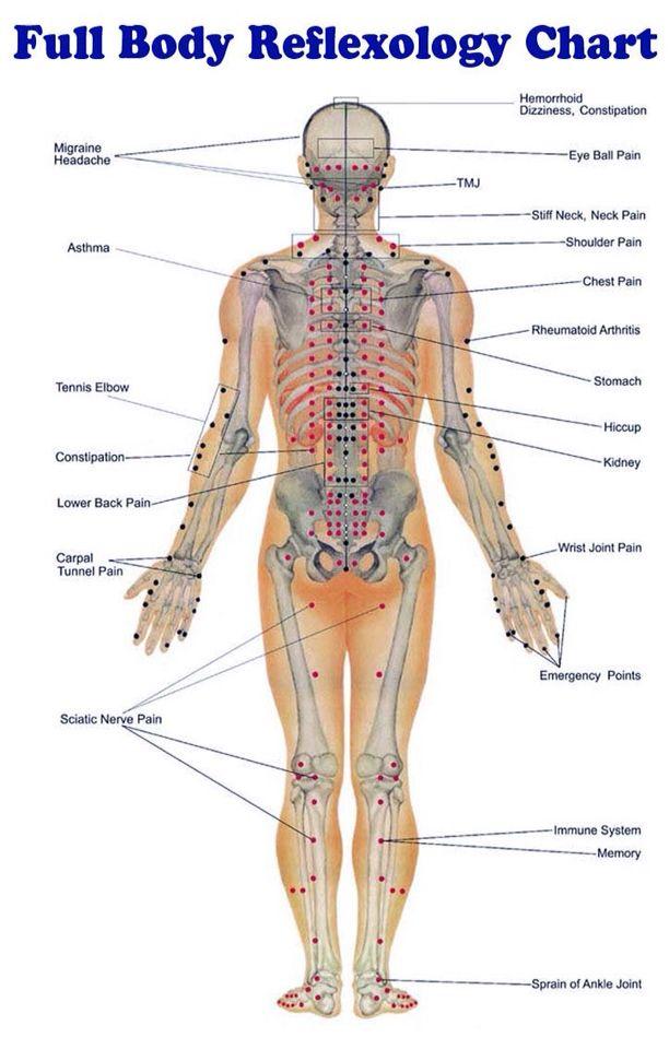 Body Reflexology | matus | Pinterest | Acupuntura, Masaje y Medicina