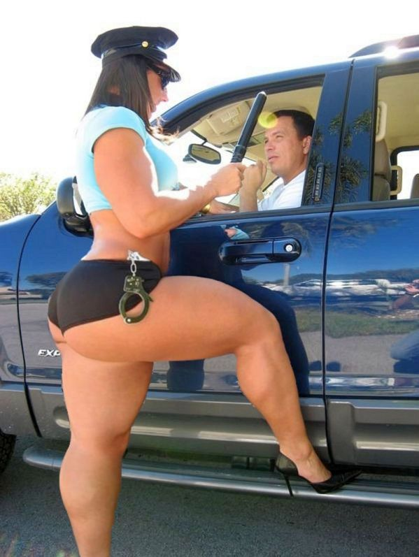 Police Woman Big Ass