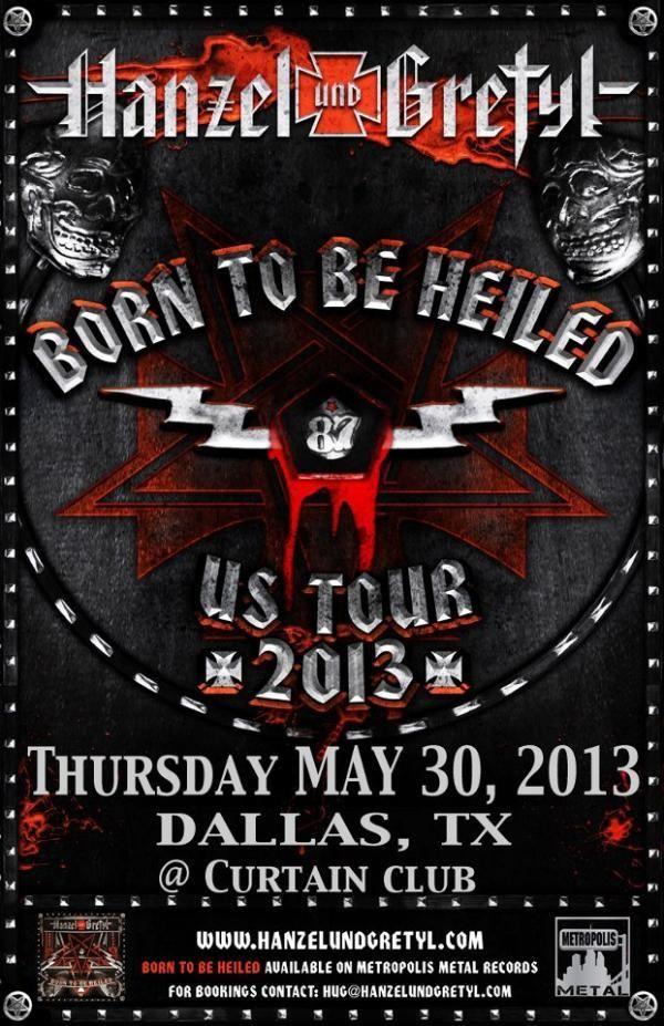 May 30 @ Curtain Club - Hanzel Und Gretyl |Razorblade Dolls | Silver Loves Mercury