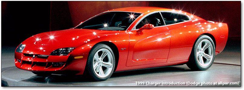 1999 Dodge Charger >> 1999 Dodge Charger R T Concept Car 1990s Wait A Minute