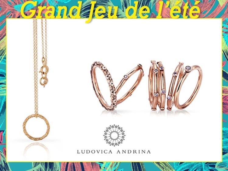 Gagnez Votre Bon D Achat Ludovica Andrina Marque Italienne De Bijoux Bon D Achat Grand Jeux Achat