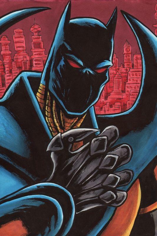 Knightfall Batman by Dave Grote Jr