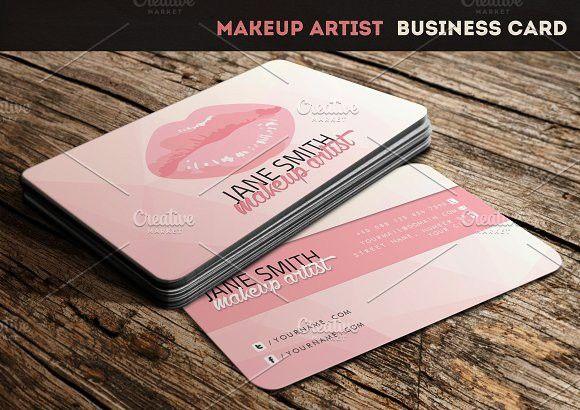 Makeup artist business card makeup artist business cards business makeup artist business card fashion business cardscreative colourmoves Image collections