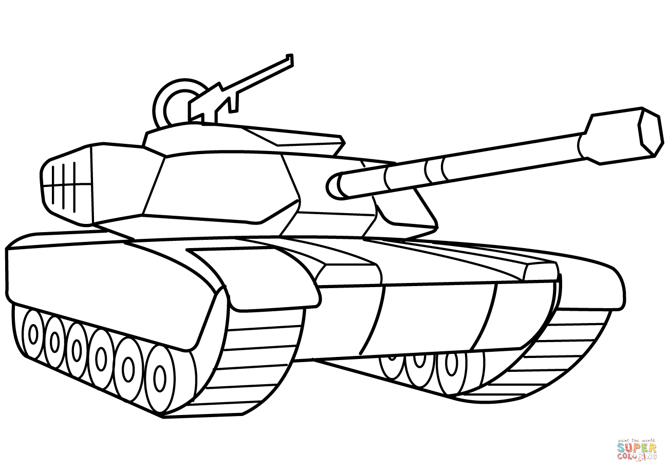 Army Coloring Pages Tanks 2020 Tank Drawing Coloring Pages