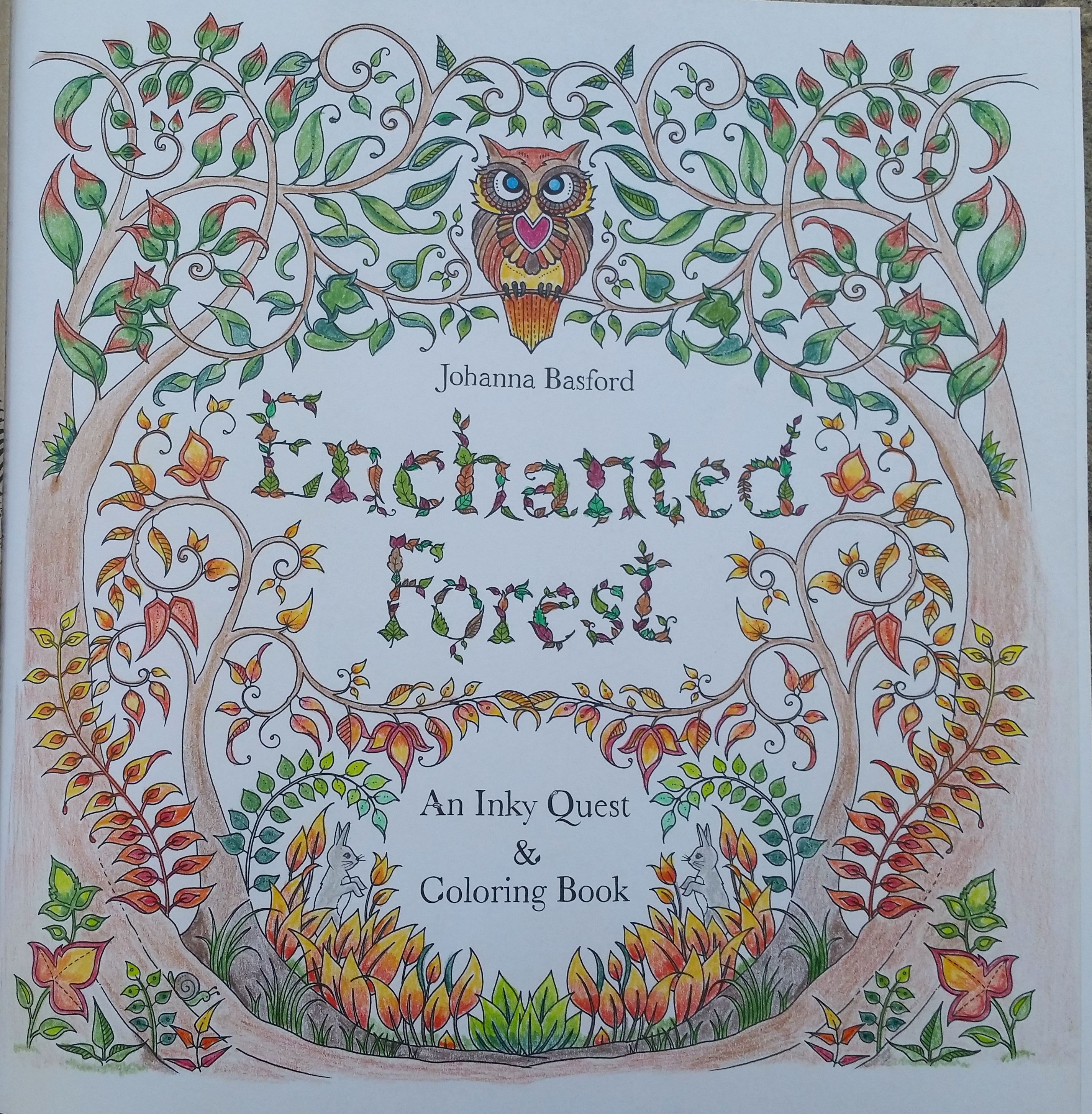 Cover Page Enchanted Forest Johanna Basford