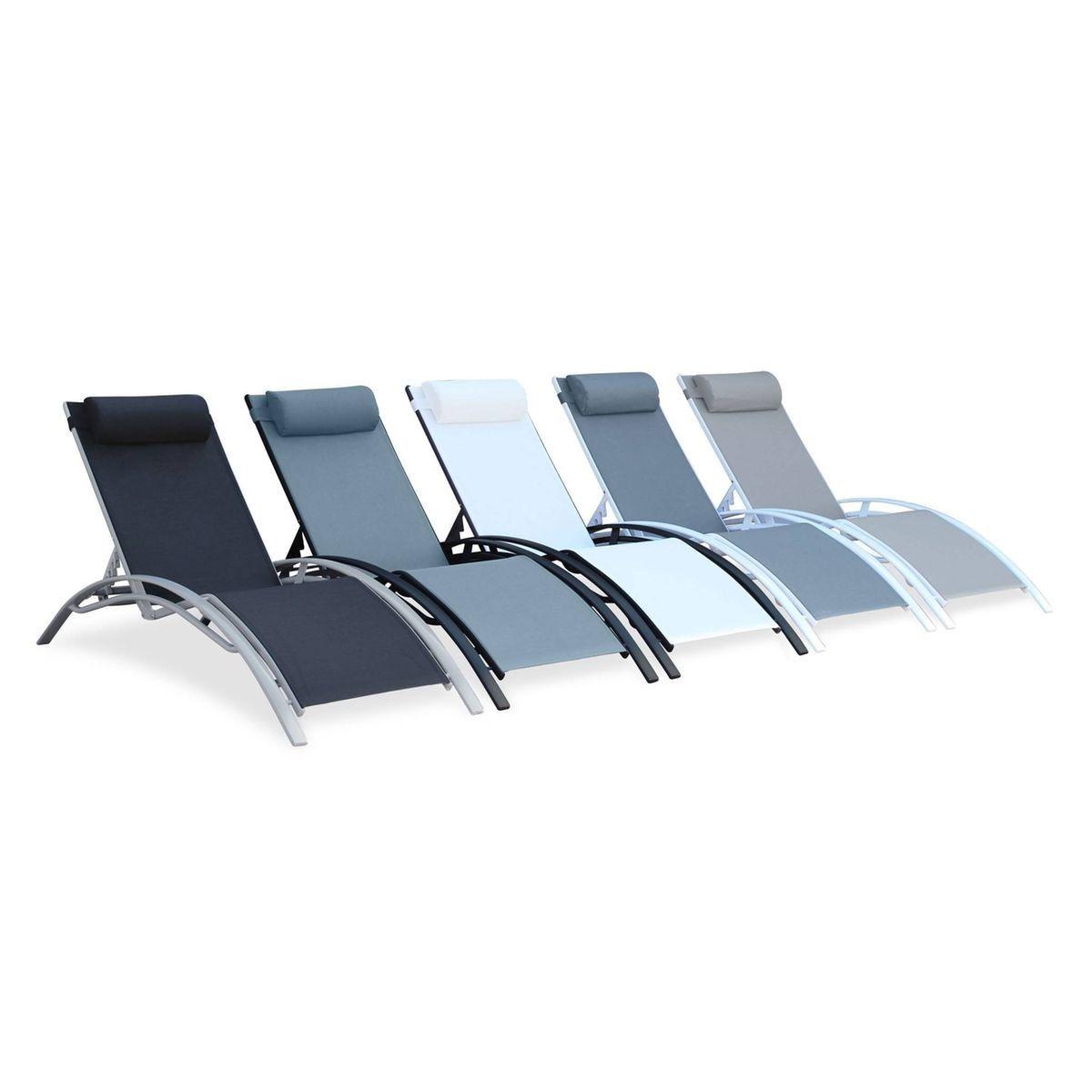Bain Soleil Et Louisa De Vert Aluminium En Textilène Taille D'eau 4AR5L3j