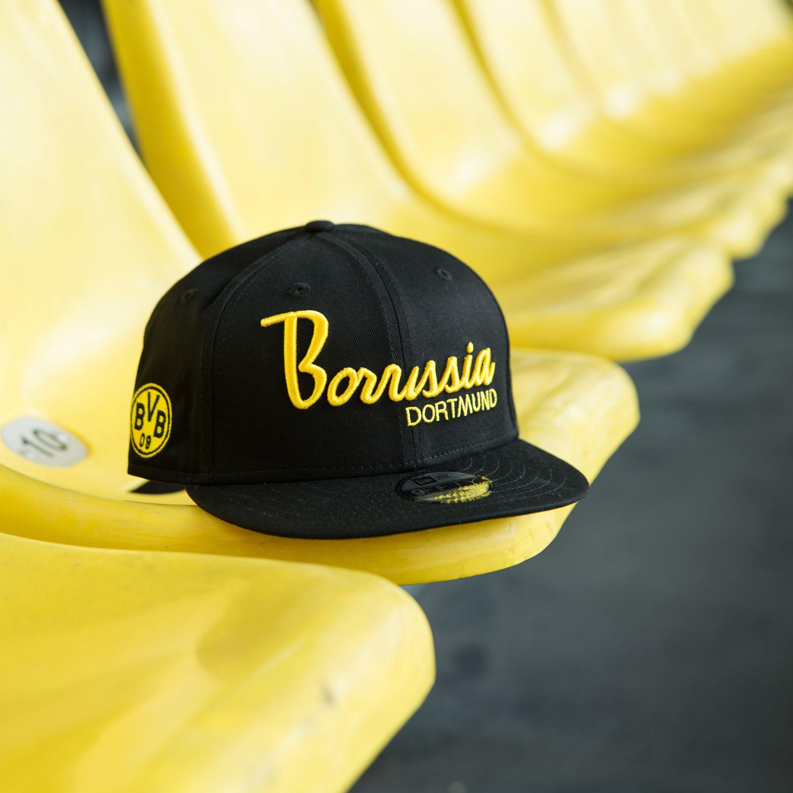 Borussia Dortmund BVB-Kappe Frauen grau