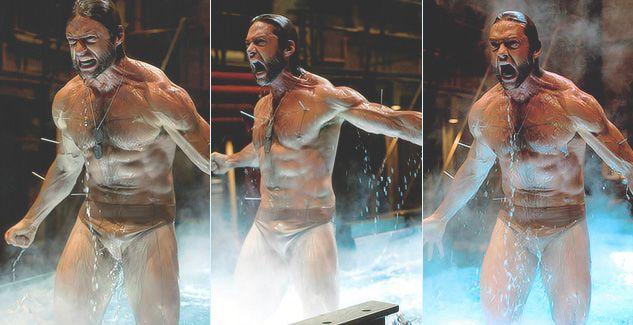 Wolverine Naked Scene 45