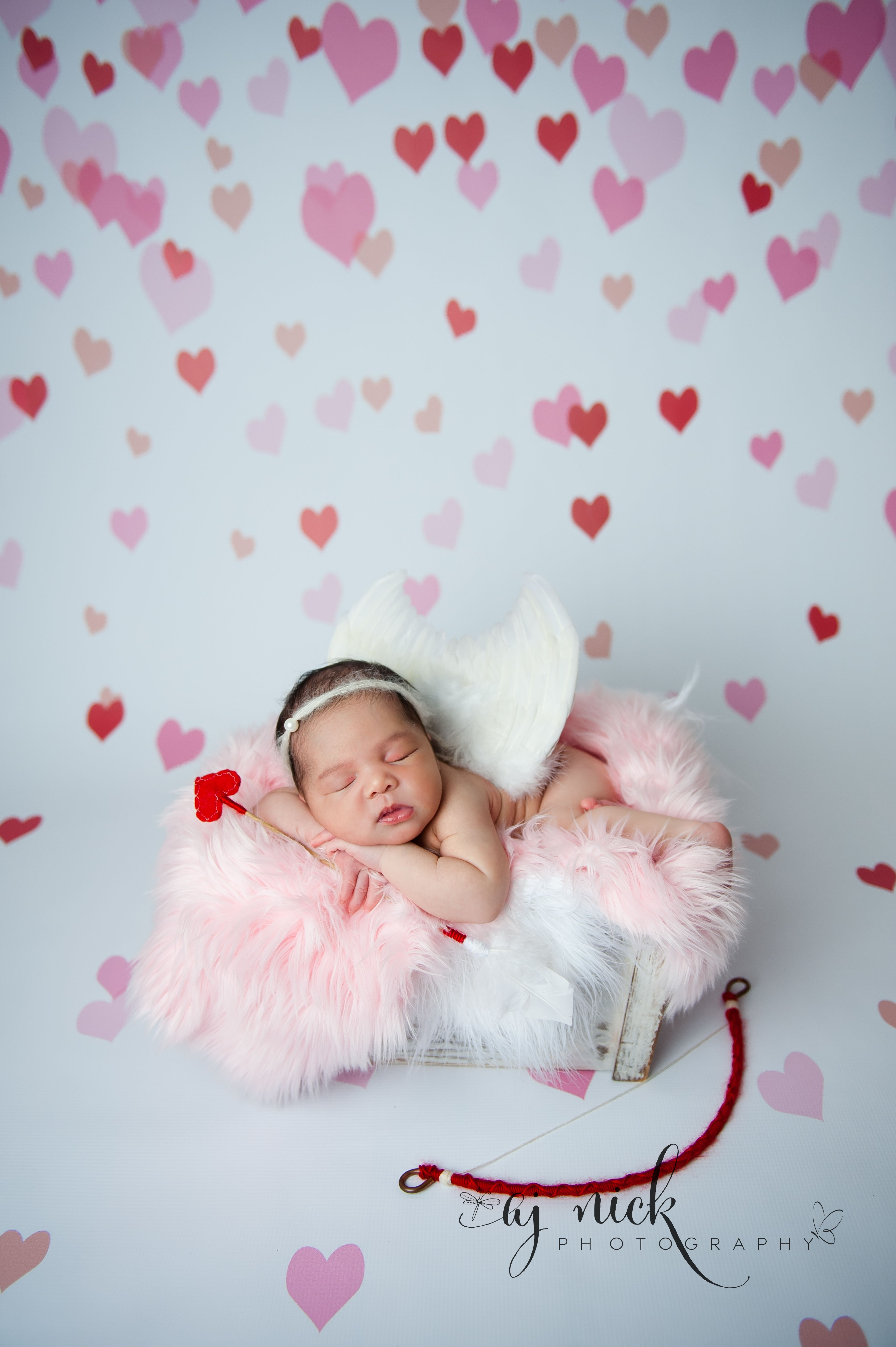 Valentines Baby day photoshoot pictures forecast dress in on every day in 2019