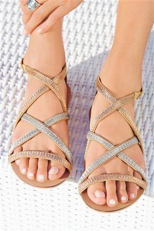 390cc52fdd1 Buy Strippy Sandals from the Next UK online shop