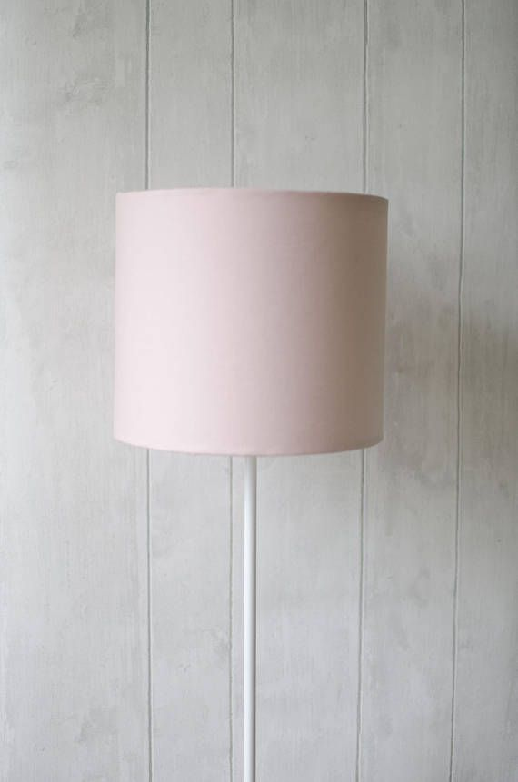 Pale Pink Lampshade Light Pink Home Decor Baby Pink Decor