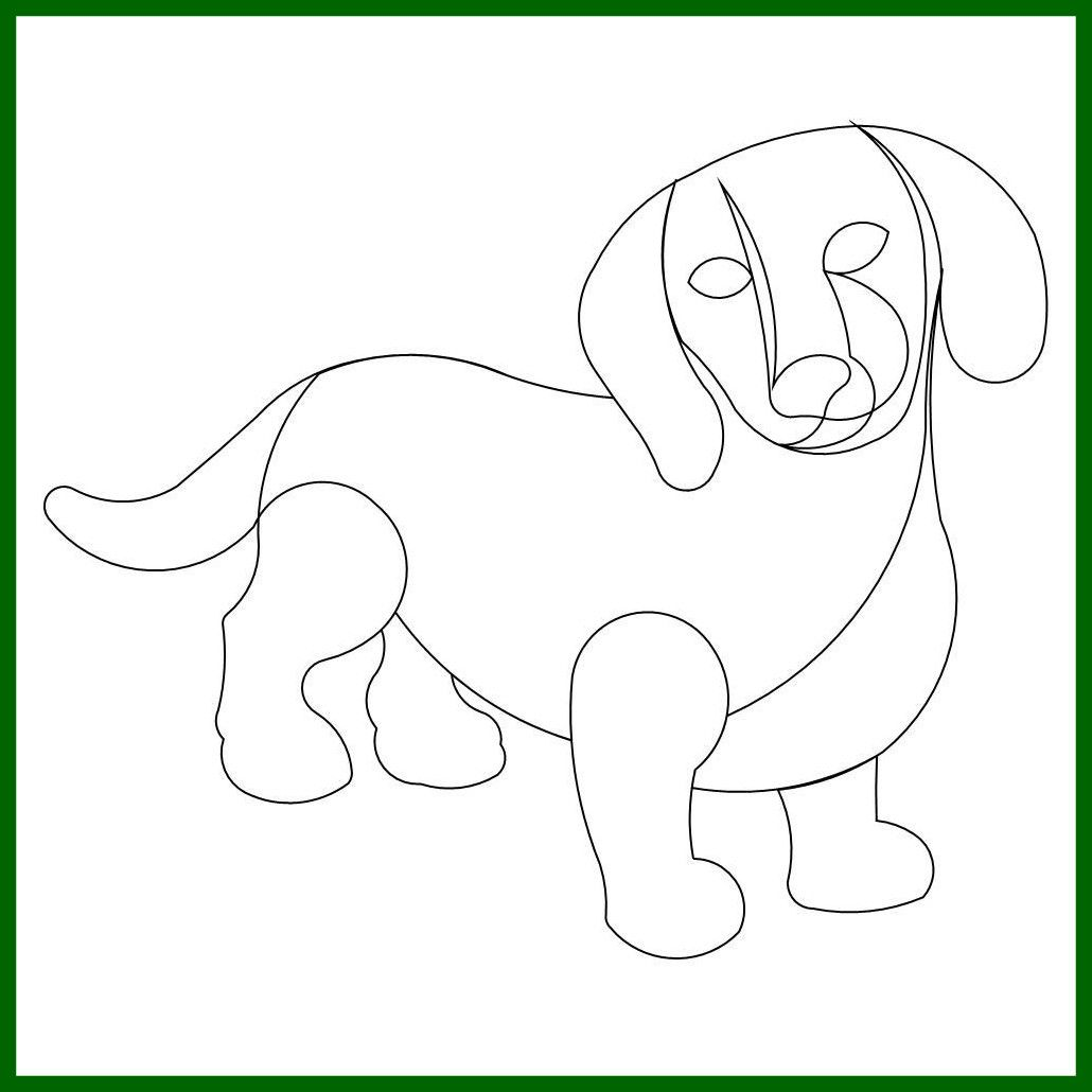 dachshund coloring pages Free http://www ...