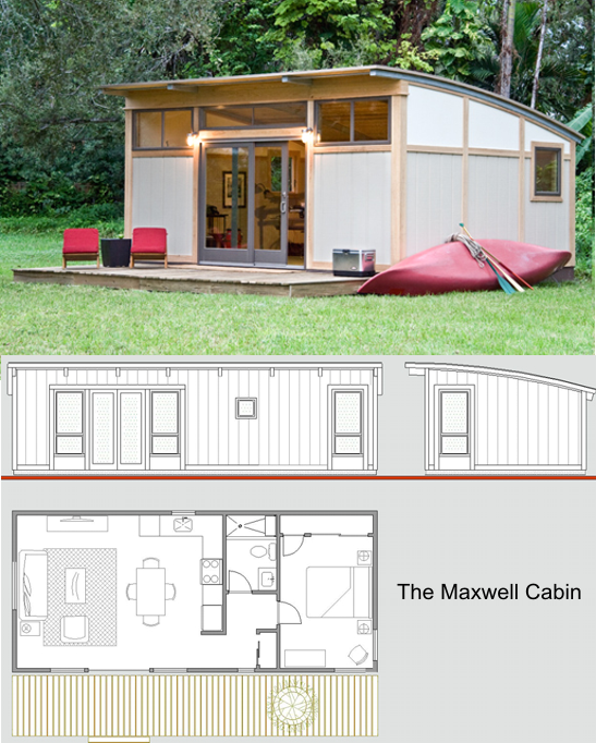 The Maxwell Cabin-Another small home option