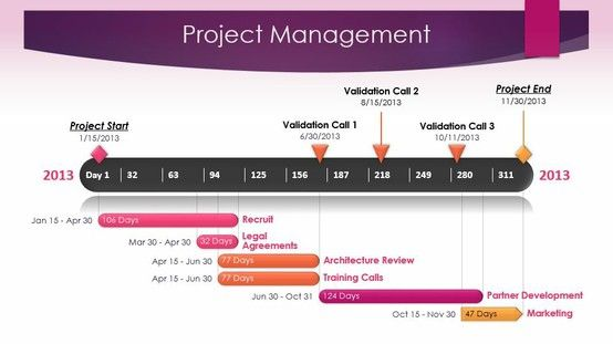 Project Management Timeline Template Made With Office Timeline
