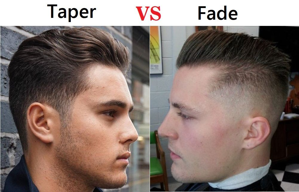 Taper Vs Fade Haircut Choose The Best Hairstyle For You Styleswardrobe Com Mens Haircuts Fade Taper Haircut Men Fade Haircut