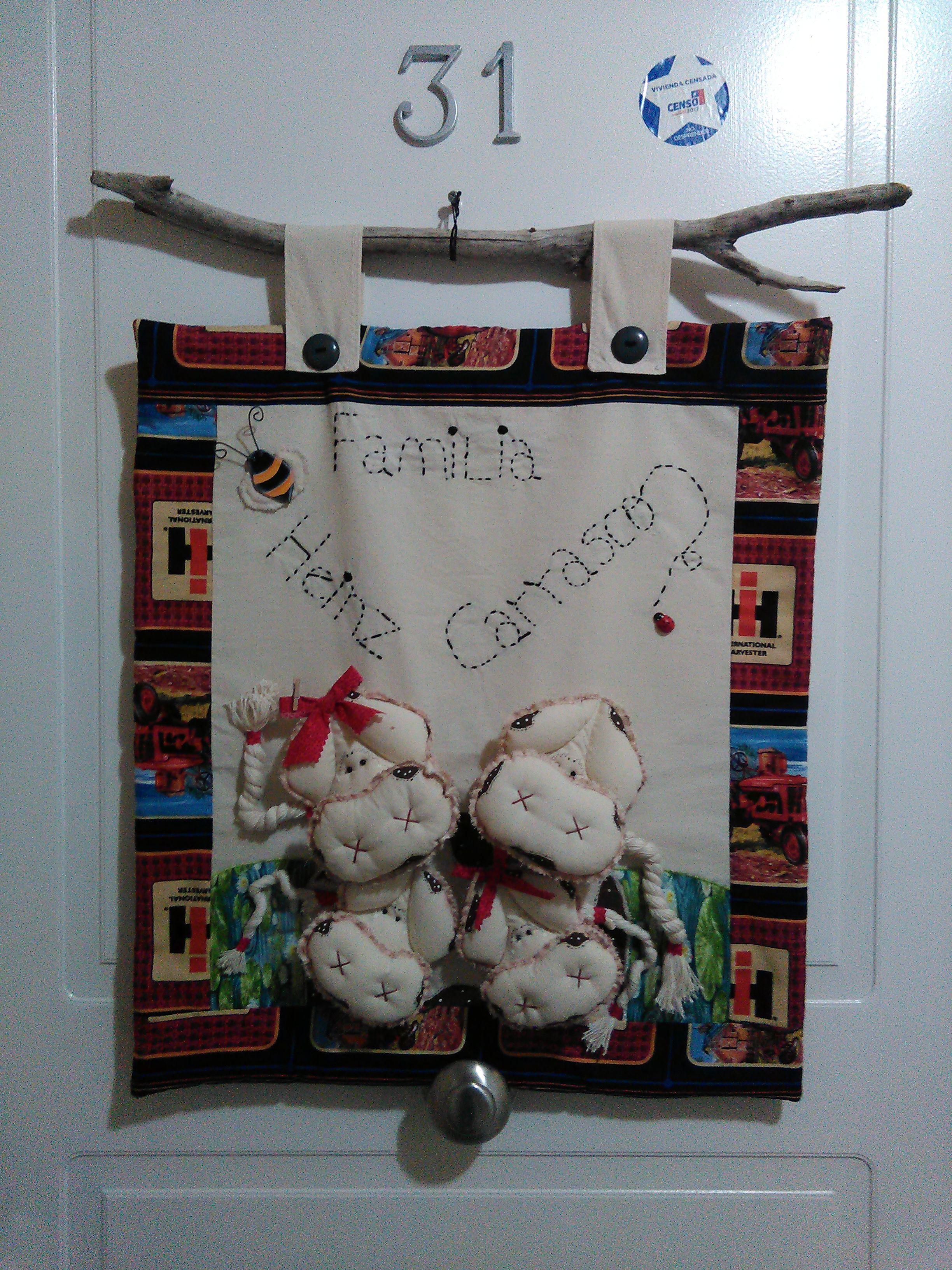 adorno puerta   Christmas sewing, Decor, Home decor