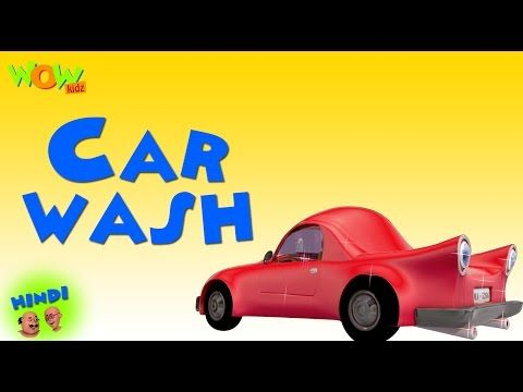 Car Wash Motu Patlu In Hindi Cartoon For Sweet Kids With Images