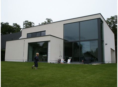 Witte crepie met donker raamwerk huis pinterest for Crepis interieur