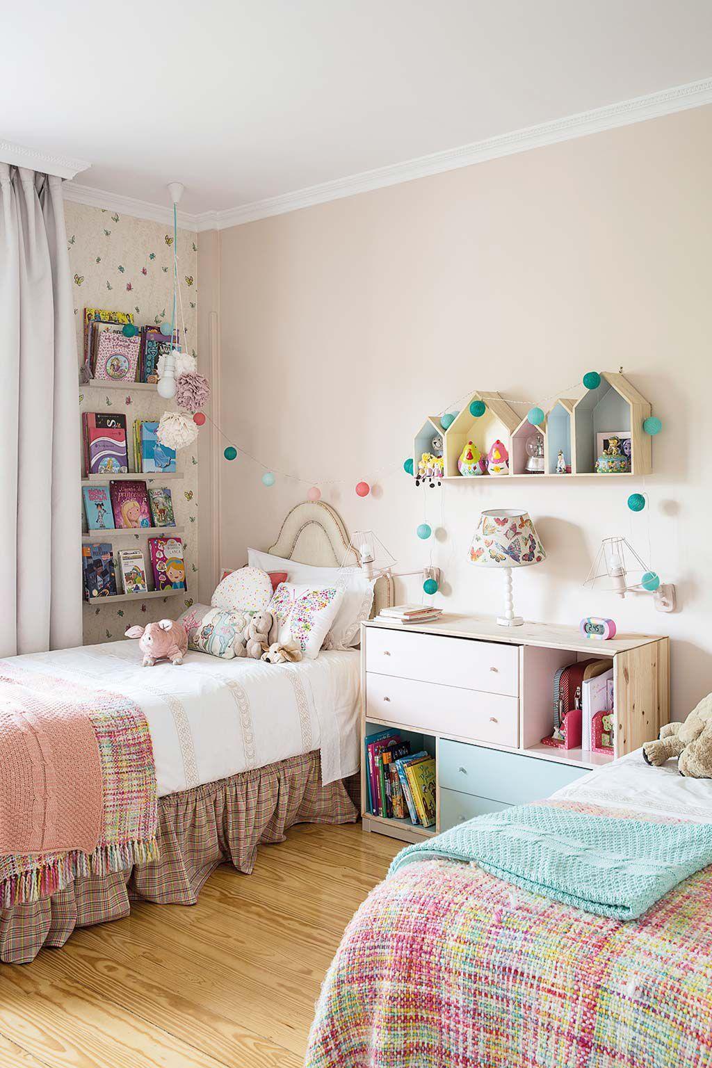 ¡Un cuarto para compartir! | Dormitorios, Dormitorios ...