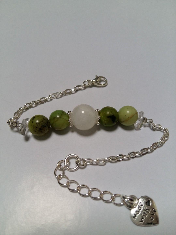 Bracelet en pierre de cristal