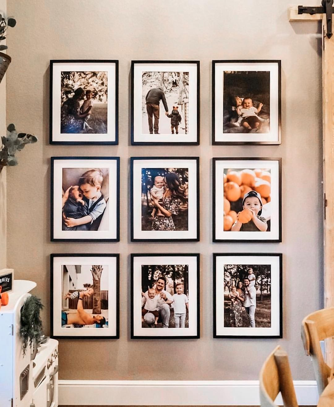 Pin On Wall Decor Living room family picture ideas