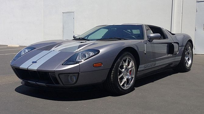 2006 Ford Gt 5 4 550 Hp 6 Speed Ford Gt Mecum Auction Mecum