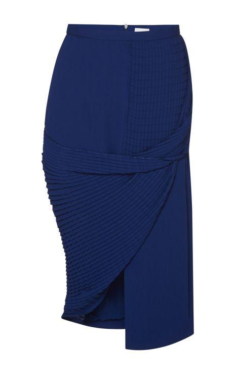 Grid Pleat Skirt by Dion Lee - Moda Operandi