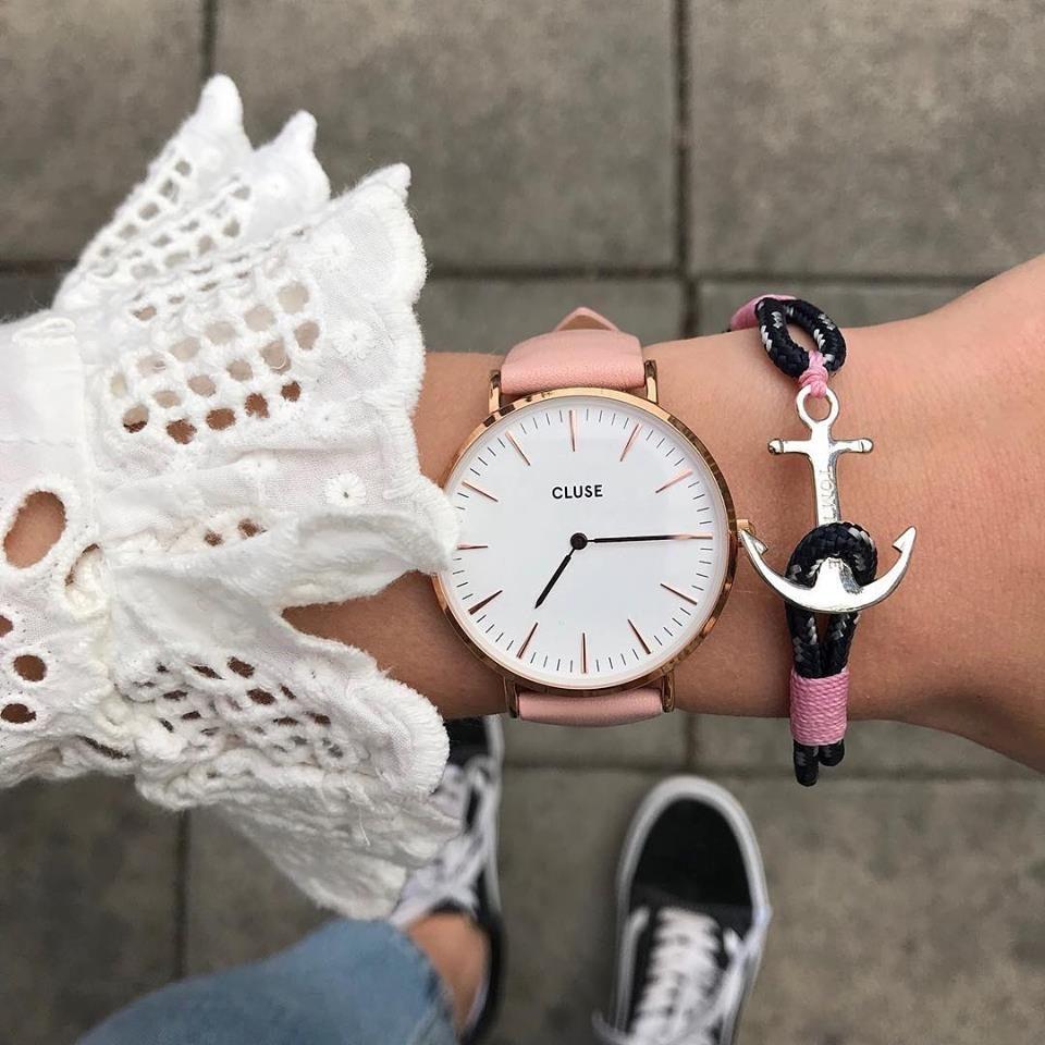 design intemporel 63a13 27d69 Popular Tom Hope bracelet with their signature anchor for ...