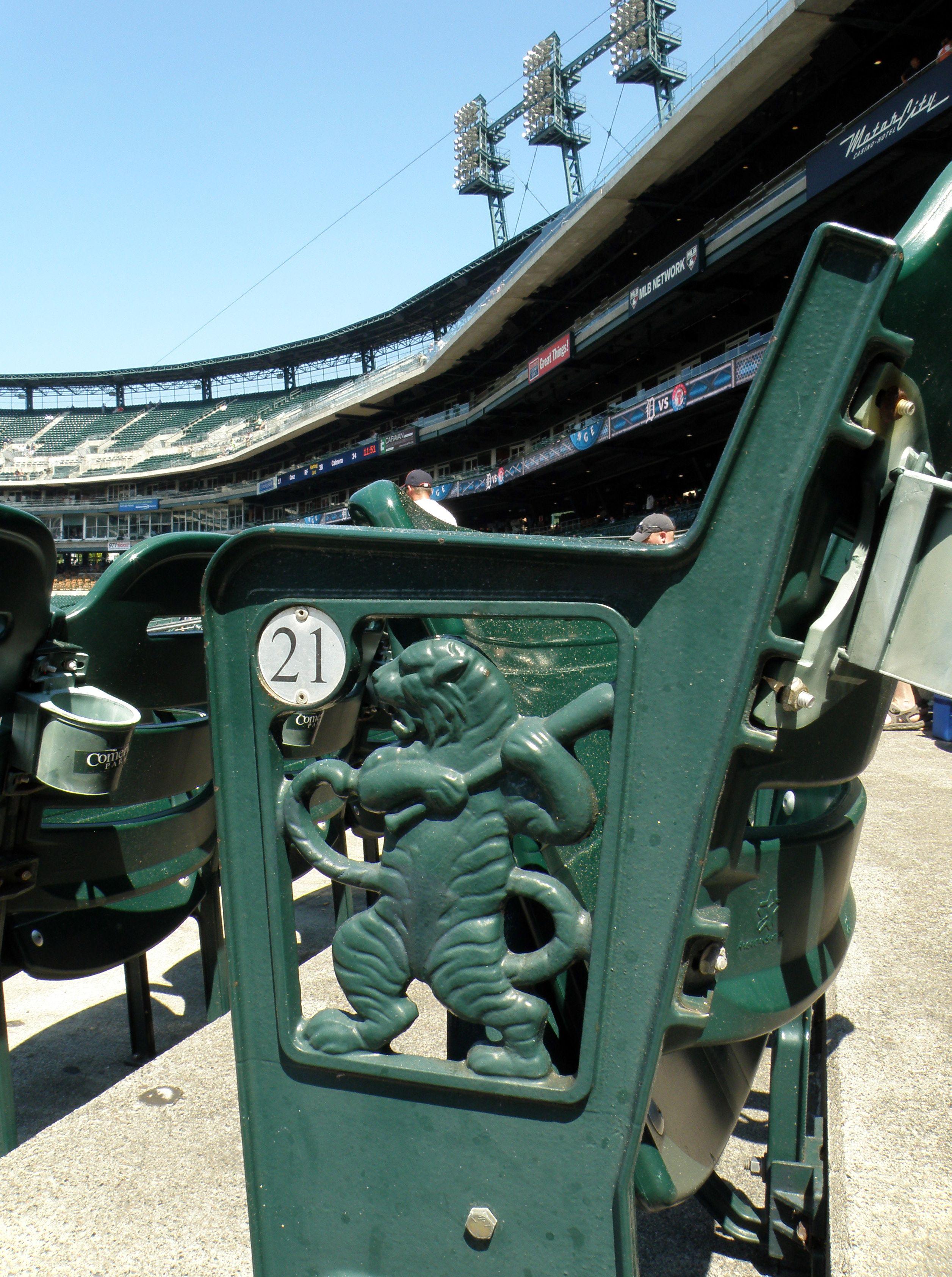 Detroit Tigers Stadium Chair Creatively Dani