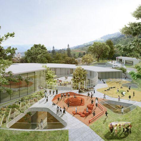 Arquitectura y Espacio Urbano, primer lugar en diseño del Jardín Infan