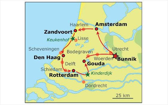 Cycling holiday: Old Dutch Cities Tour | NL - Attractions | Holland ...