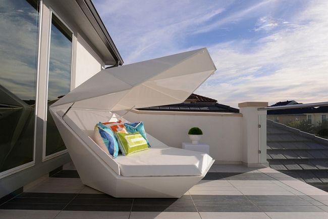 40 idées de lits d\u0027extérieur et de salons de jardin Balconies