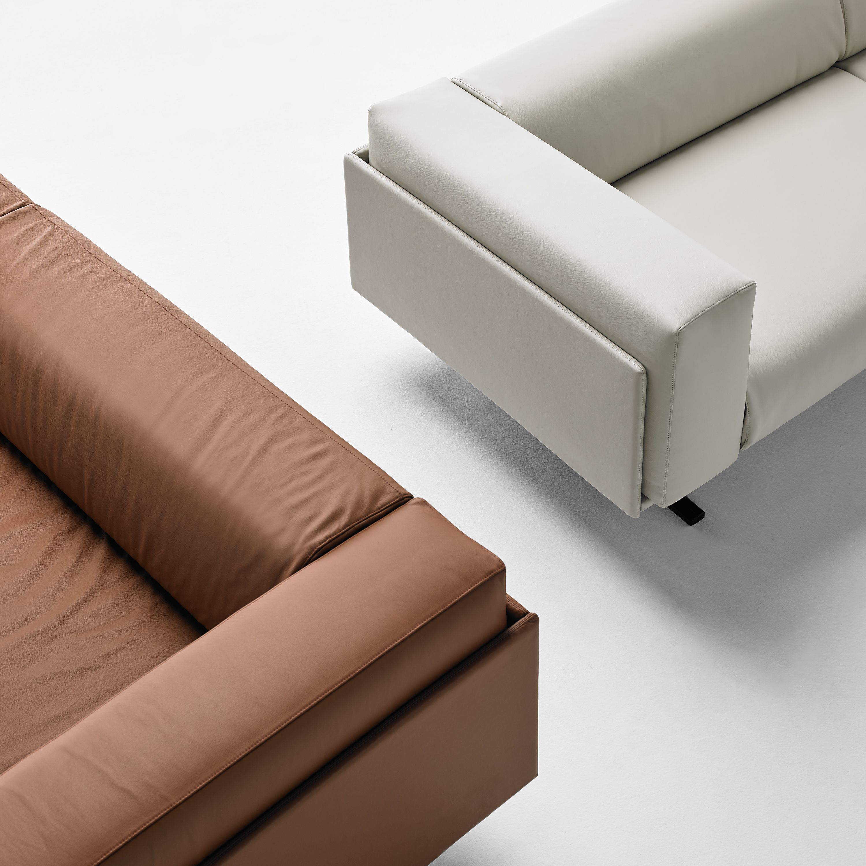 The Marcus Collection Comprises Sofas In Four Sizes Hand Upholstered With Quality Materials Are Available All Fabrics And Leather