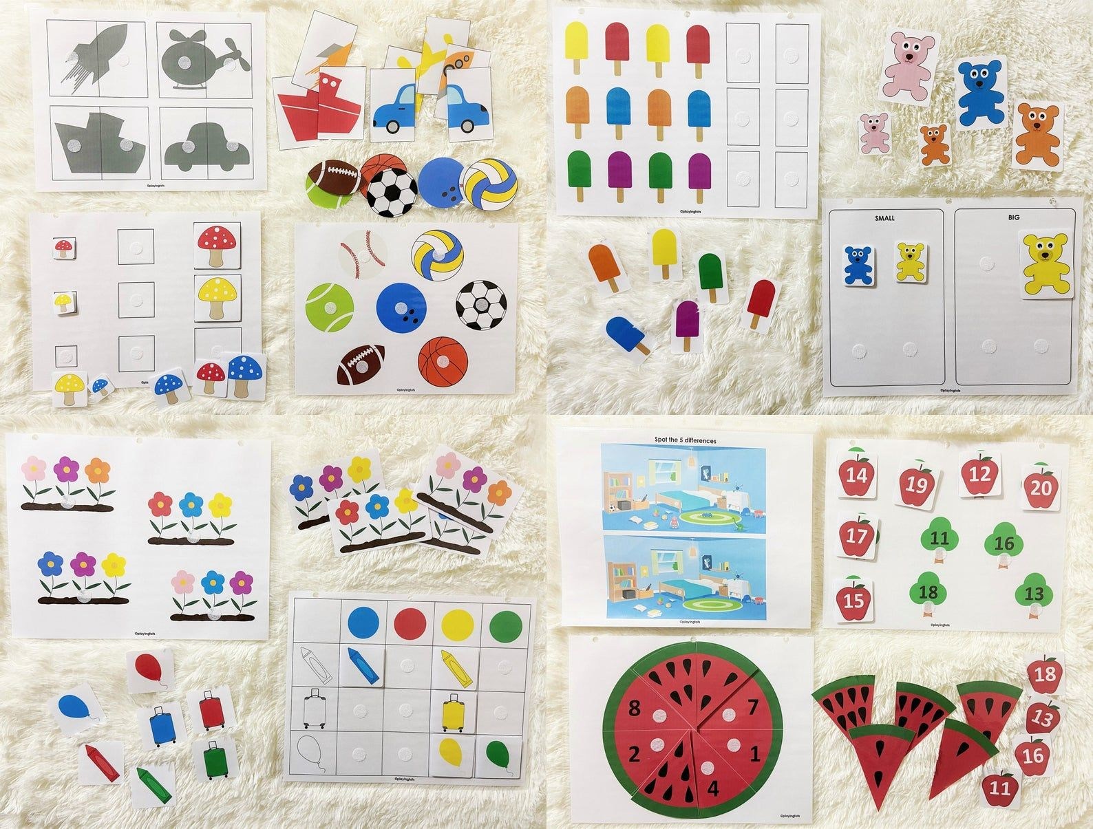 Busy Book Printable Pack For Toddlers Toddler Learning