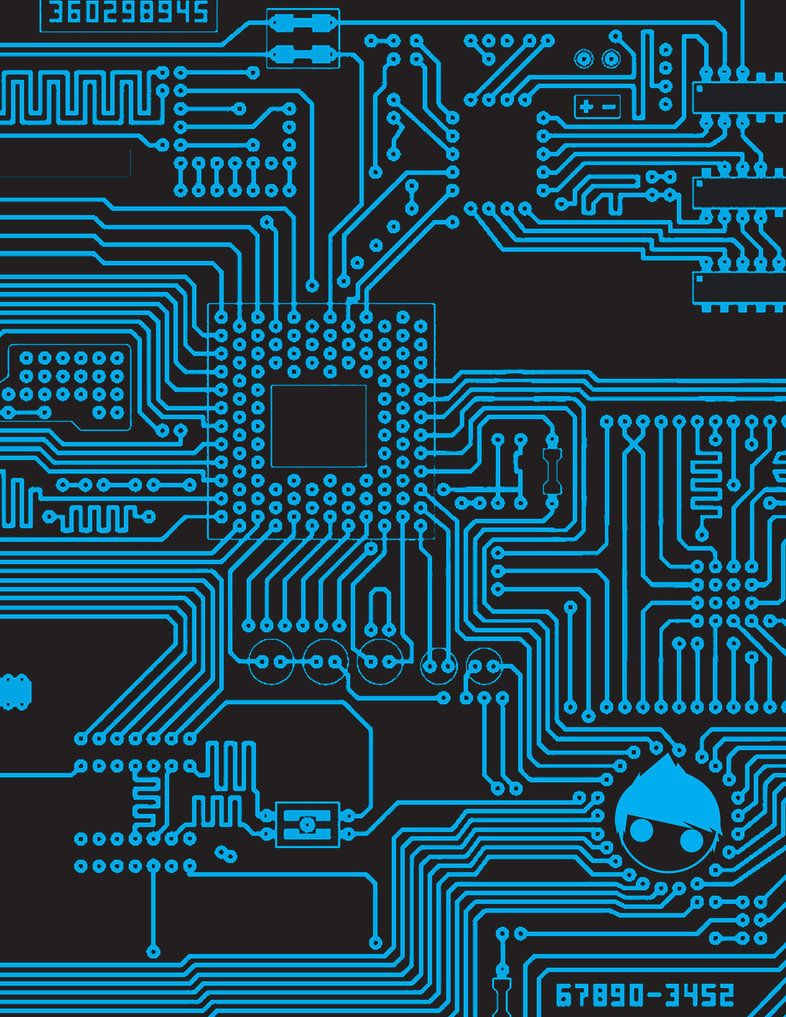 Circuit Board By Kiddynasty On Deviantart 패턴