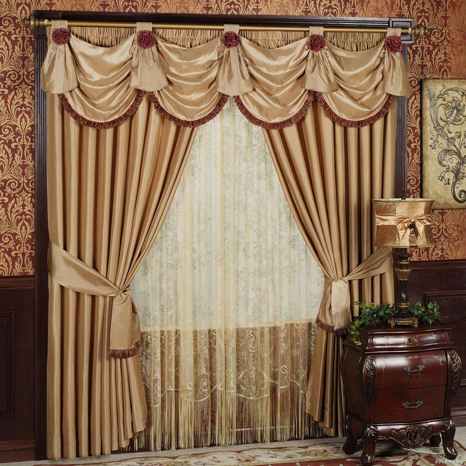 Simple Design Curtain Designs For Bay Windows Curtain Designs For