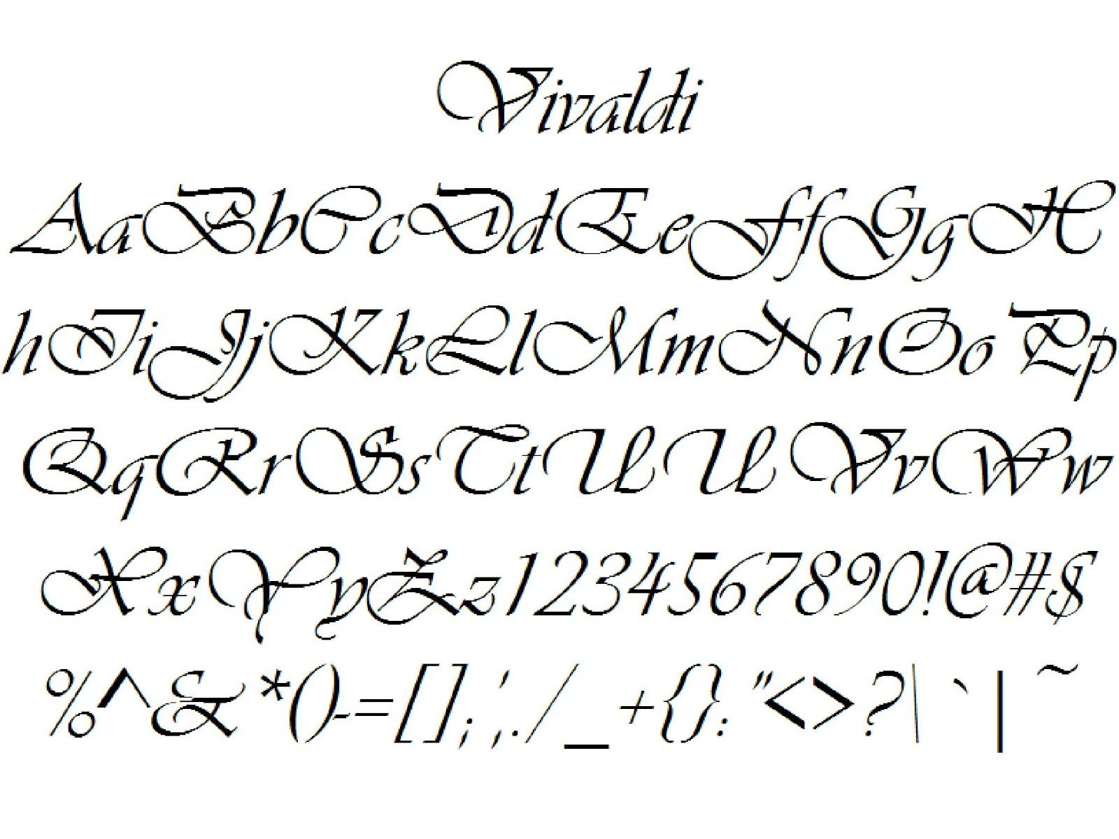 lettering font styles