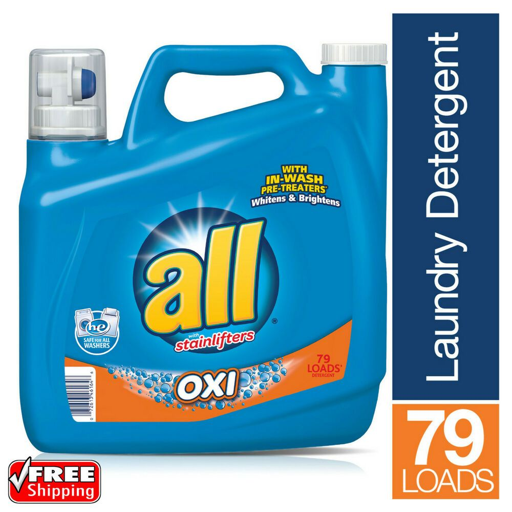 All Stainlifter Liquid Laundry Detergent With Oxi Stain Remover