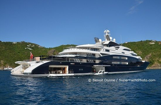 SYT Top 10: The ten largest yachts ever built in Italy