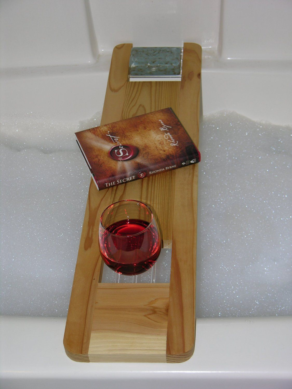Bathtub Tray for Your Bathroom Accessories: Bathtub Tray | Wood Bath ...